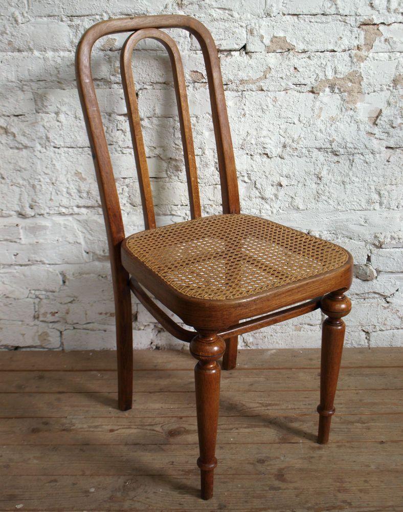 4 Original Thonet Stühle Mit Geflecht Nr 41 1881 1887