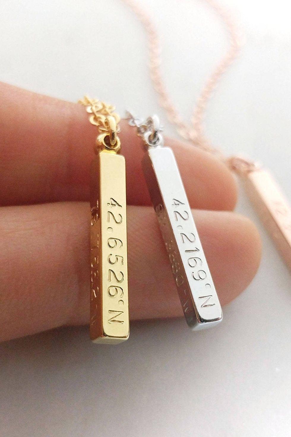 personalized bracelets for women anniversary gift for girlfriend for her rose quartz bracelet birthday gift for mom gift for sis engraved