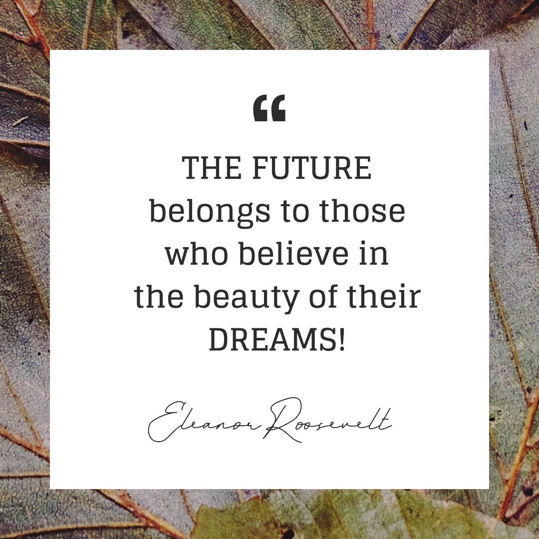 Your DREAMS are beautiful Vision Board