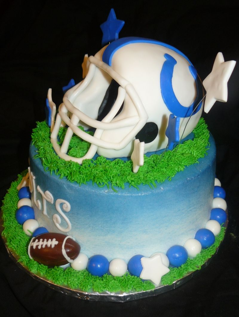 Indianapolis Colts Football Cake If you aint a Gator youre