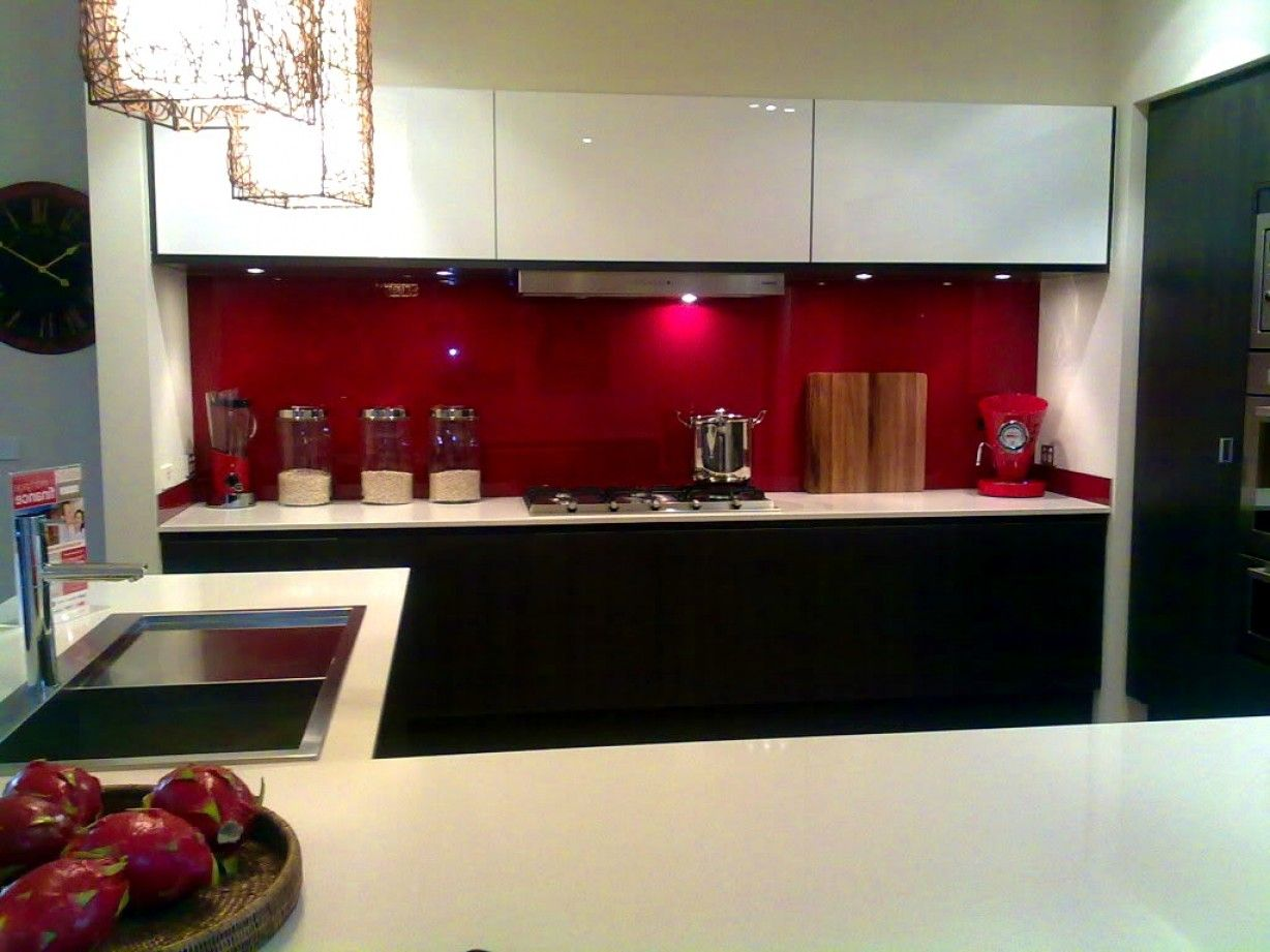 Best Of Kitchen Design Red and Black