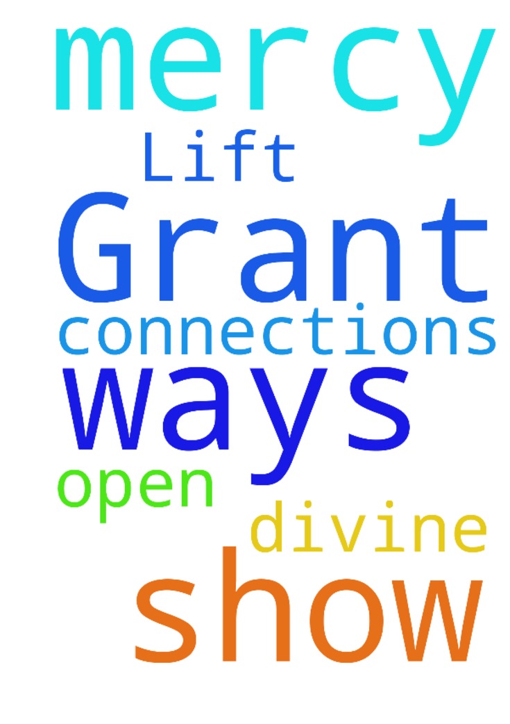 God please show me mercy .open my ways. Lift me up. Grant me divine connections -  	 	�  Posted at: https://prayerrequest.com/t/bHP #pray #prayer #request #prayerrequest