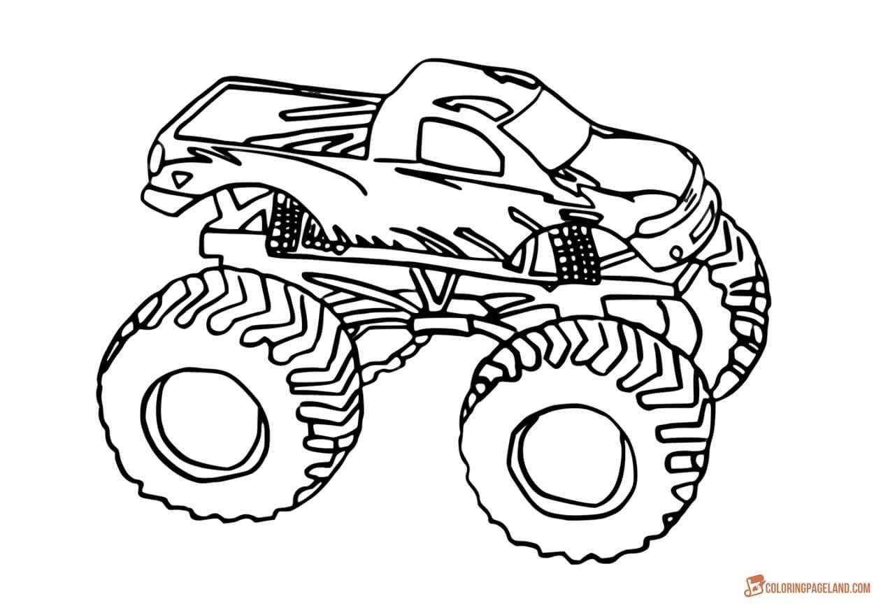 Free Printable Race Car Coloring Sheets Classic Pages ...