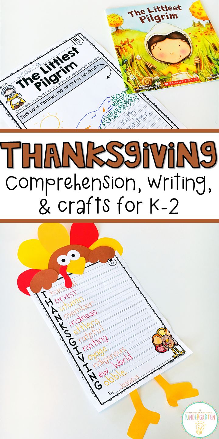 Thanksgiving Reading Comprehension Writing And Craftivities Thanksgiving Readings Reading Comprehension Thanksgiving Reading Comprehension [ 1440 x 720 Pixel ]