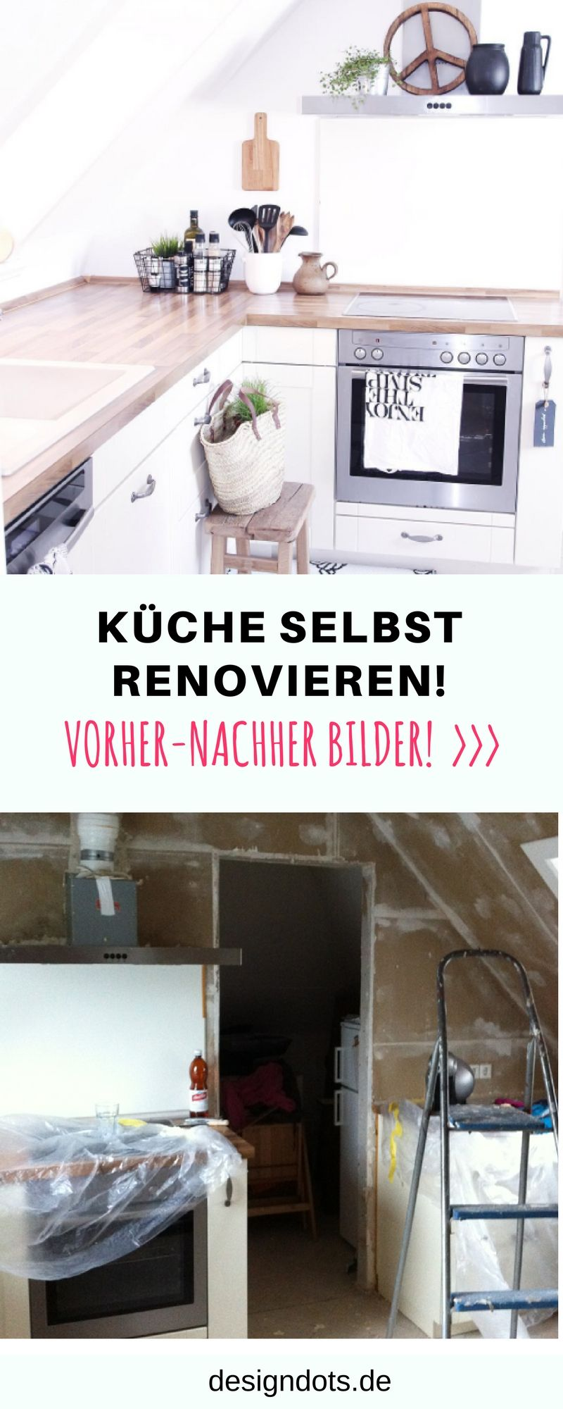Küche selbst renovieren | DIY interior, Budgeting and Future