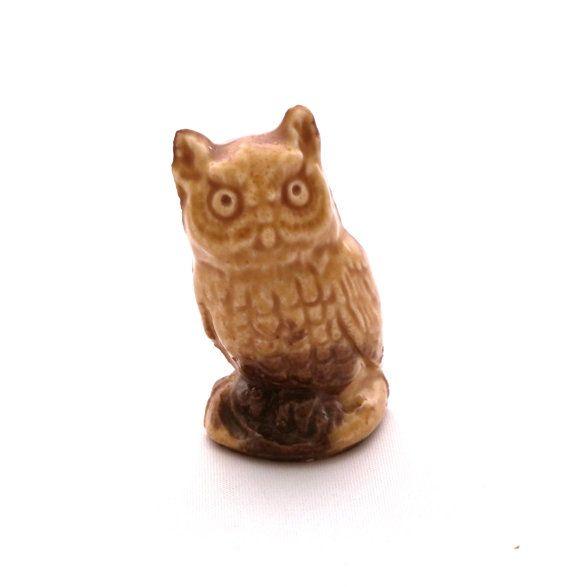 Vintage Wade Barn Owl Figurine Wade England Wade