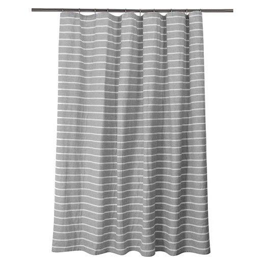 Stripe Shower Curtain Radiant Gray Threshold Gray Shower