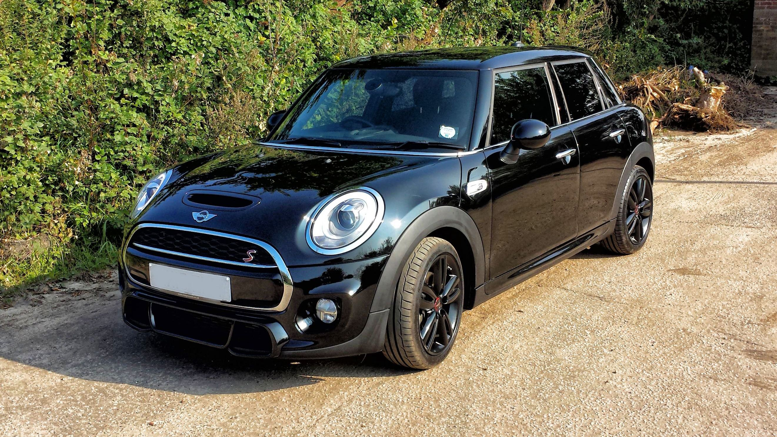 Mini Cooper S 5 door with window tint Taken with Samsung Galaxy S4