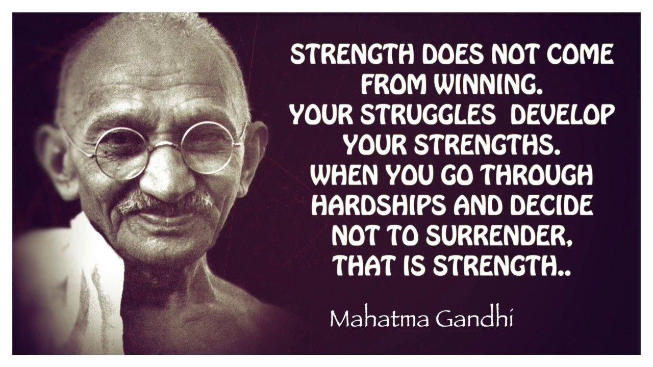 TOP 15 Famous Quotes Mahatma Gandhi