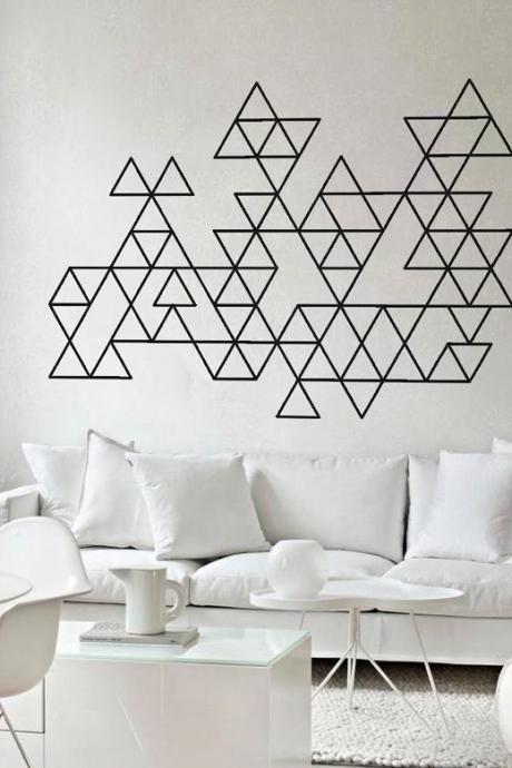 Luxury Tape Wall Design