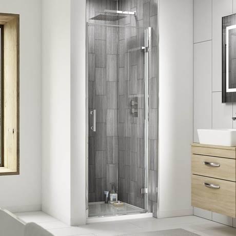 Pacific Hinged Shower Door At Victorian Plumbing Uk In 2020 Shower Doors Frameless Sliding Shower Doors Wet Room Screens