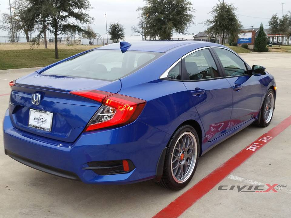 MY NEW CIVIC AND NEW BBS RS-GT WHEELS | Honda civic ex ...