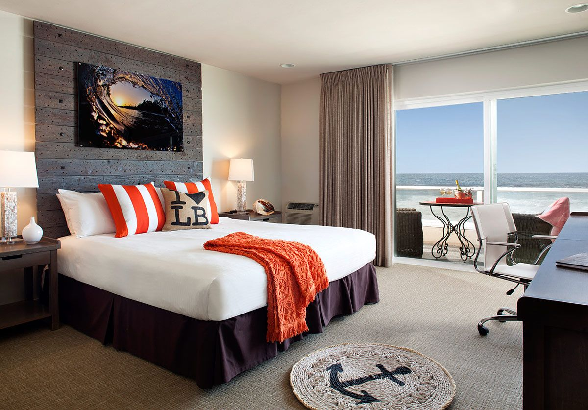 pacific edge hotel coastal bedrooms and interiors