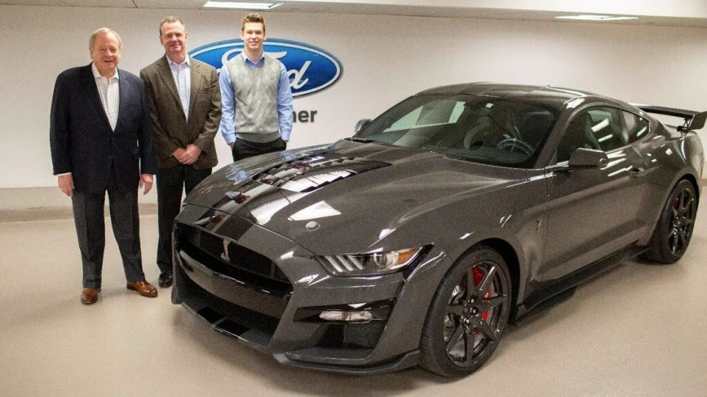 Ron Scalzo Wins 2020 Ford Mustang Shelby Gt500 Venom In Jdrf