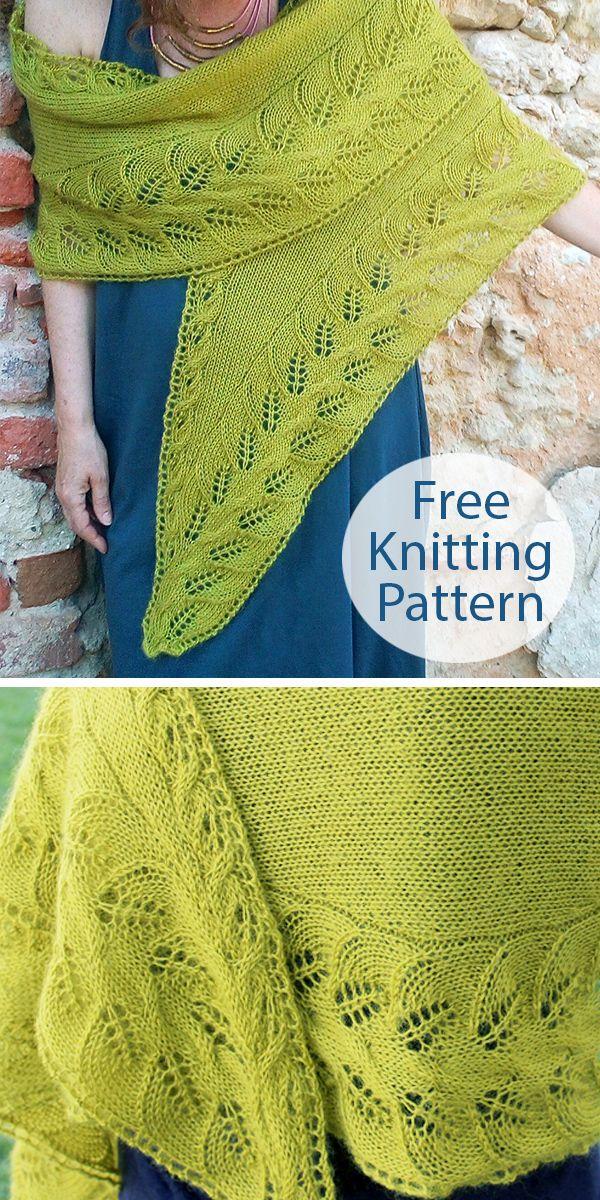Photo of Free Knitting Pattern for My Precious Shawl