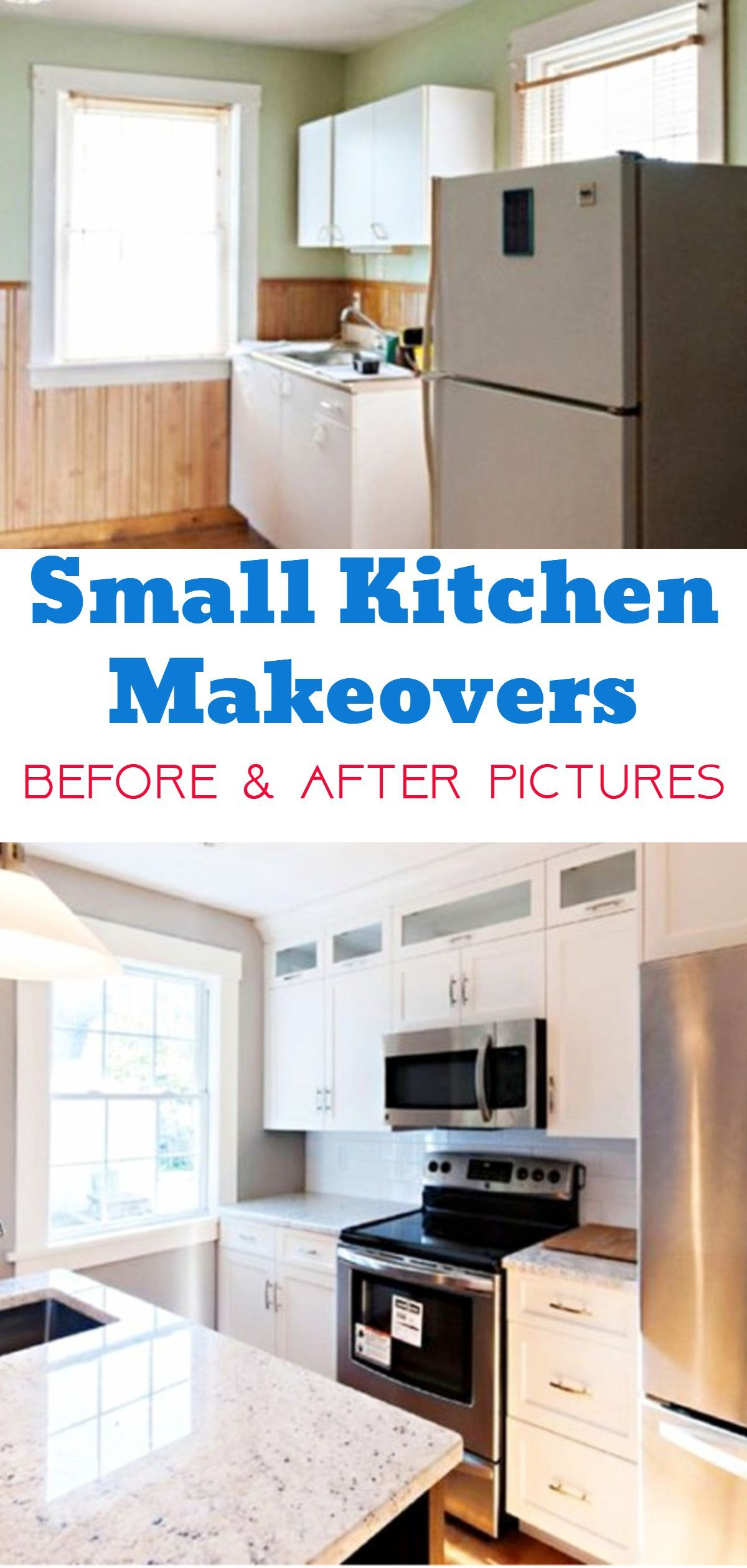 Small Kitchen Makeovers  Before & After Pictures Of Small