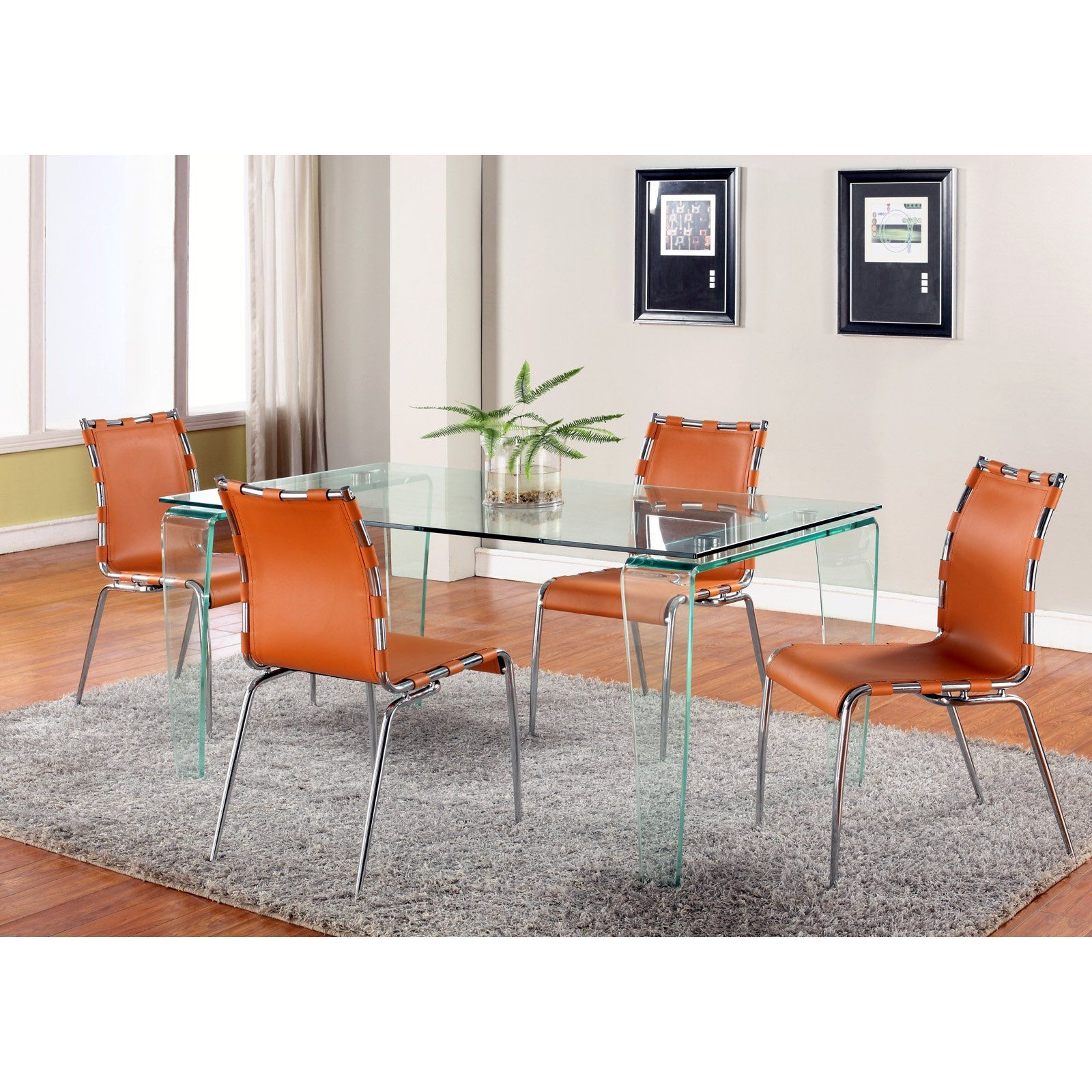 Have to have it Chintaly Vera 5 Piece Dining Table Set $1132 12