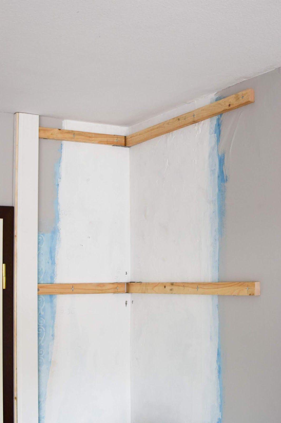 Wandverkleidung Diy Aus Holz Mit Nut Und Federbretter Kreidefarbe