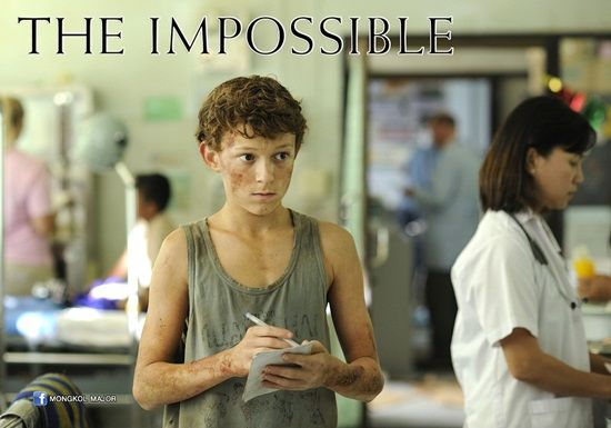 """Amazing movie! Tom Holland as Lucas in """"The Impossible"""" 