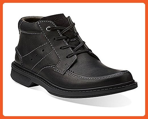 Wave Center Top Boots Black Leather