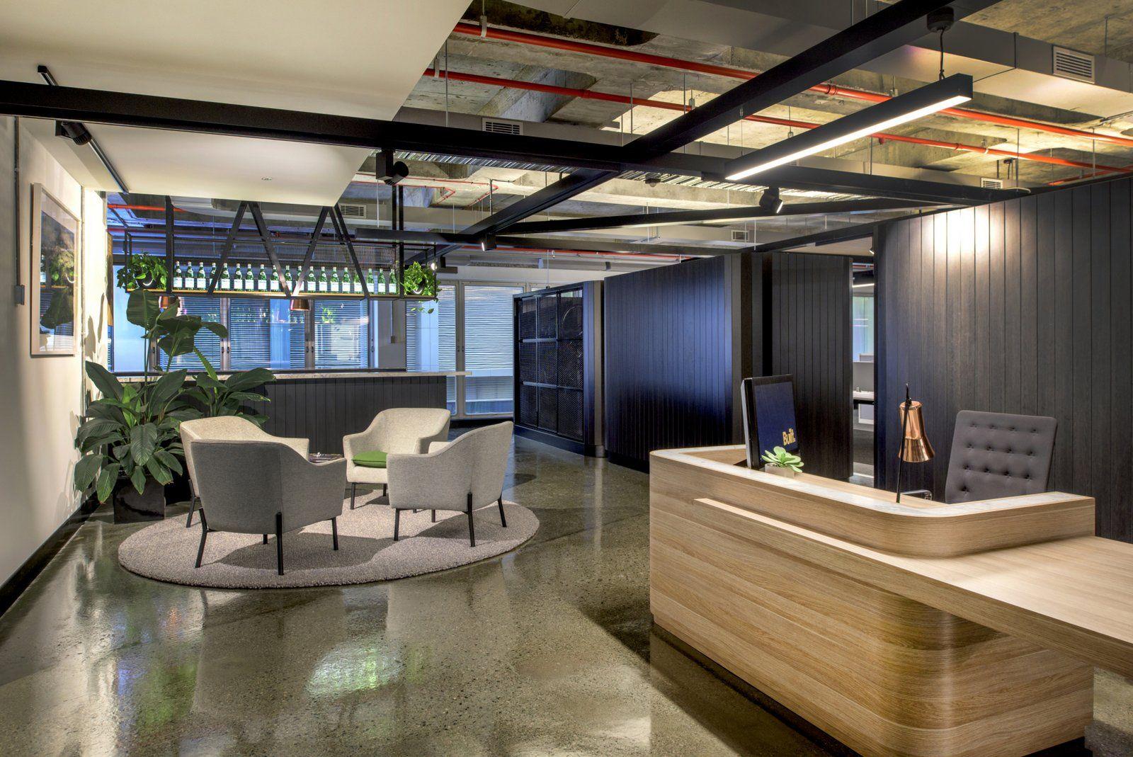 Built office by woods bagot office snapshots interior