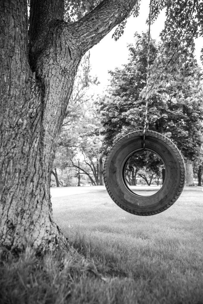 Old Tire Swing Old Tire Swing