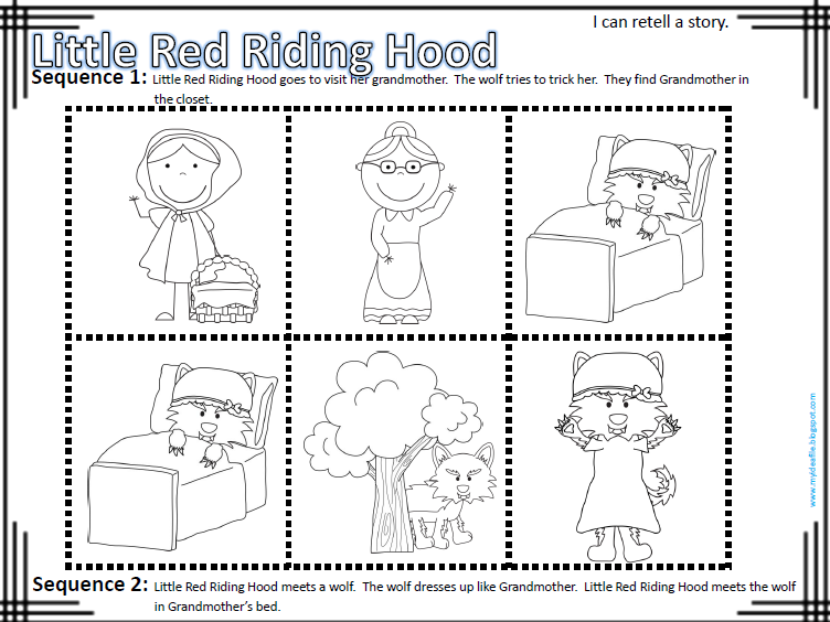 My Idea File: I can retell a story. Students retell fairy tales ...