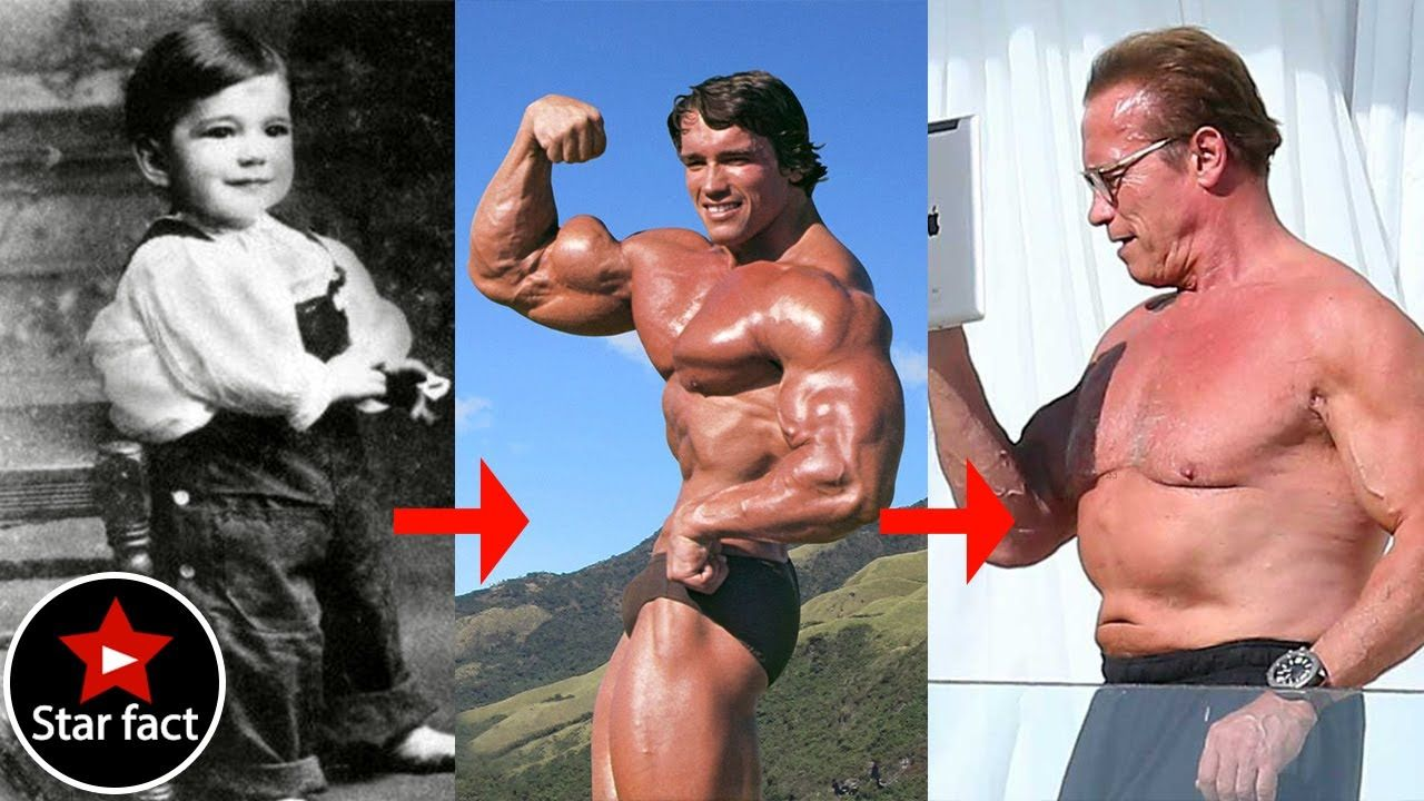 The Stunning Transformation Arnold Schwarzenegger