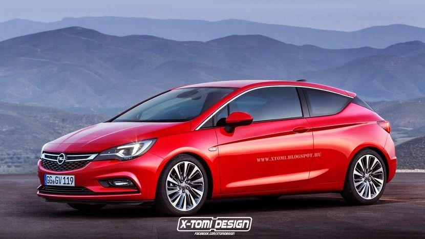 Opel Astra K Gtc 2016 Primeras Recreaciones Hatchback Superdeportivos Motores