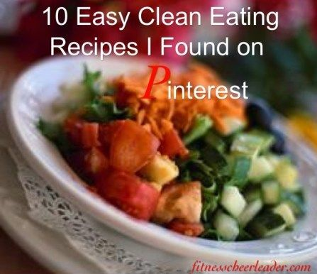 These clean eating recipes are really easy to make and taste great too!