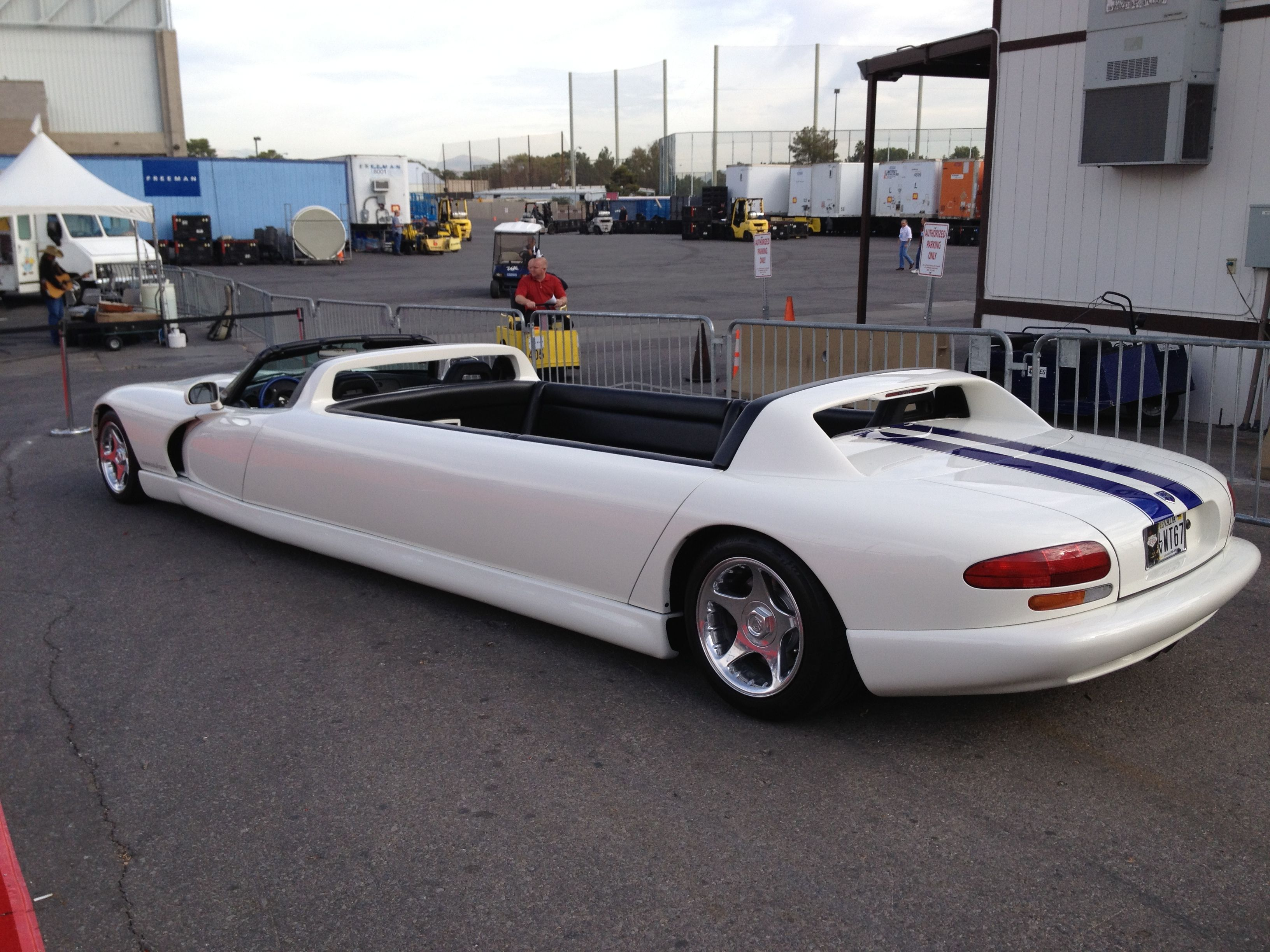 Dodge Viper Limo I stumbled upon this unique nice car Take a look