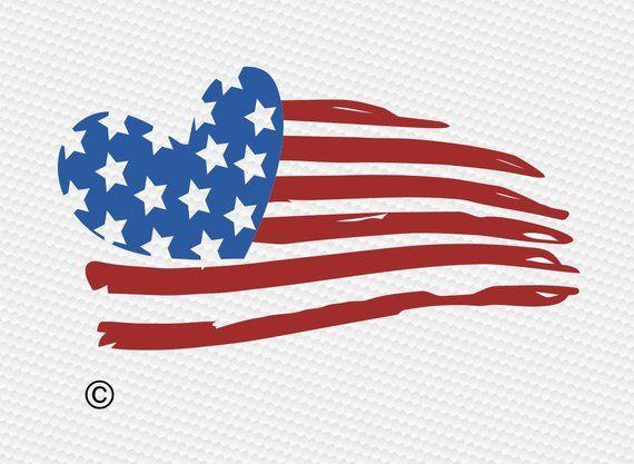 Download Usa flag Heart svg, 4th of july svg, American flag svg ...