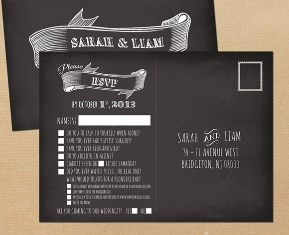 how to use rsvp with 20 awesome wedding guest reply card design