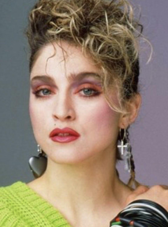 80s Icon Madonna In 2020 Haar Styling 80er Jahre Make Up Selbstgemachte Frisuren
