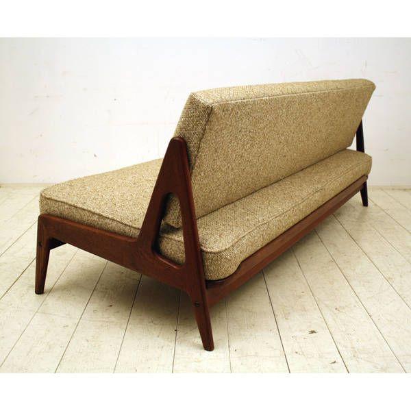 Arne Wahl Iversen; Sleeper Sofa For Komfort, 1950s.