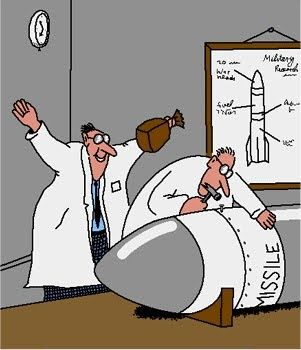 Image result for far side comics rocket
