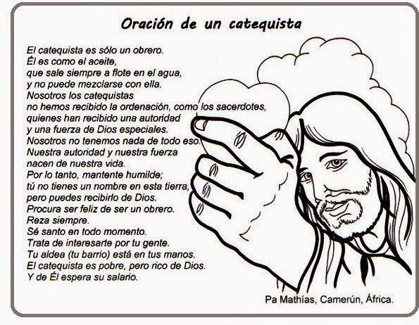 Catequesis Primera Unia N El Credo Para Colorear Espagnol: Más De 25 Ideas únicas Sobre Oracion Del Catequista En
