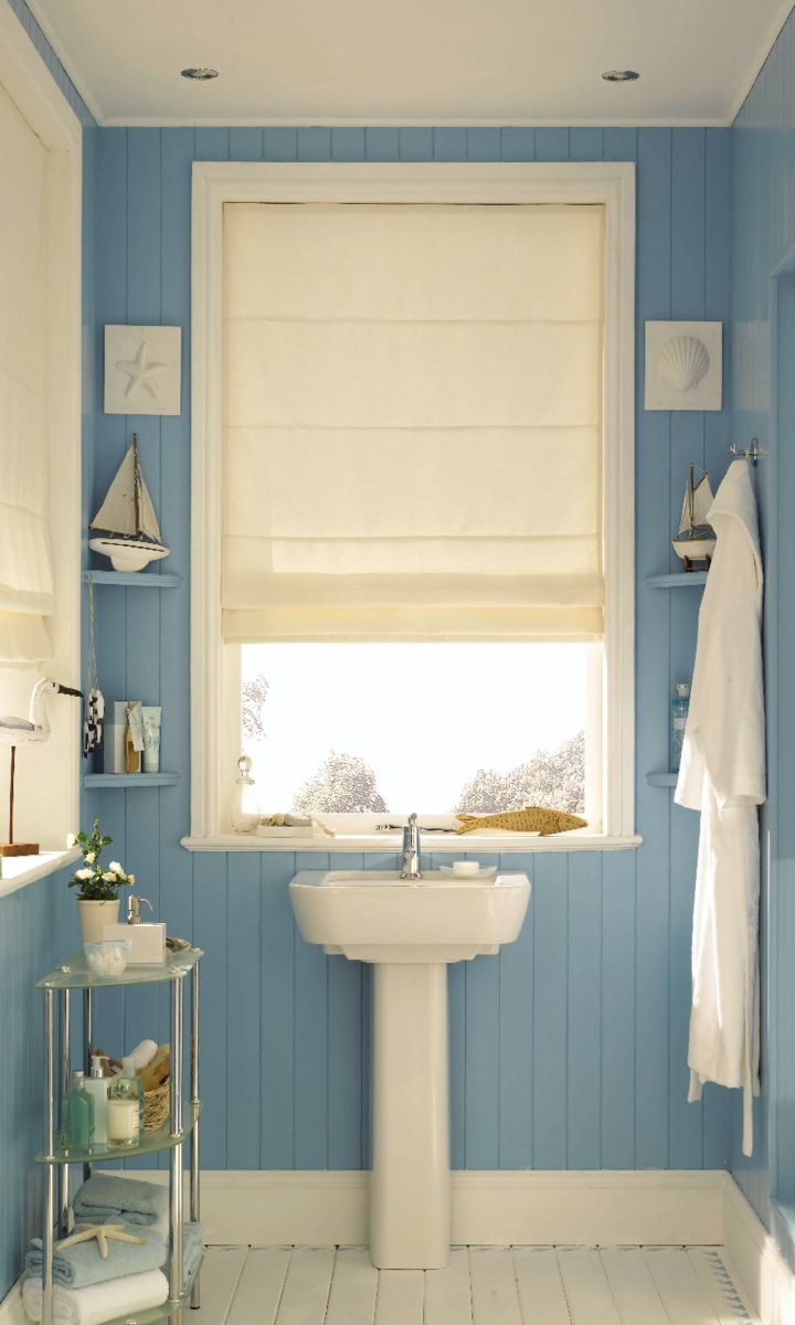blue can bring the coastal into your home, add creams and nautical