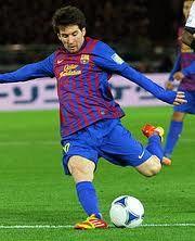 Messi Juega en equipo FC Barcelona