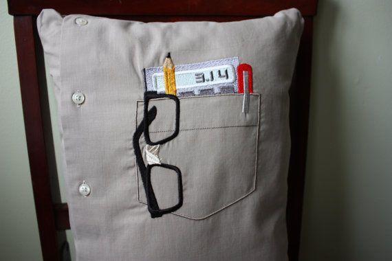 Nerd Pocket Pillow Men S Shirt Pillow Pi Calculator