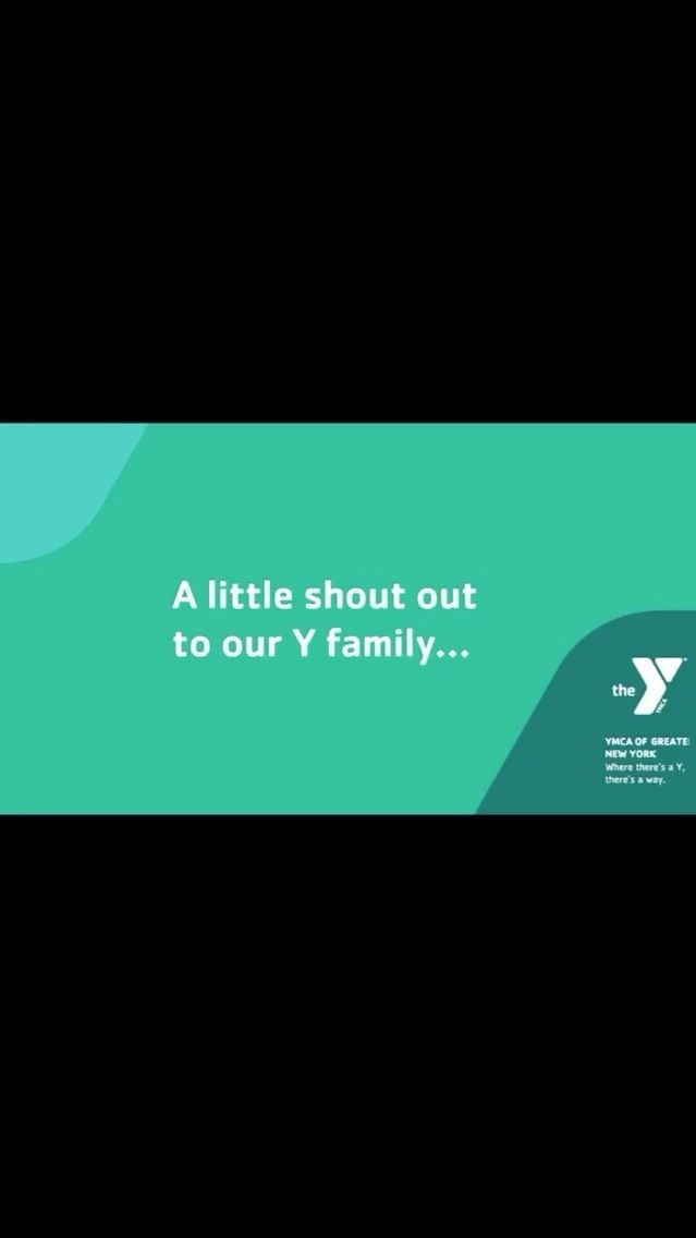 Repost from @ymcanyc • We wouldn't be the Y without you. Thanks for sticking with us. Thanks for tun...