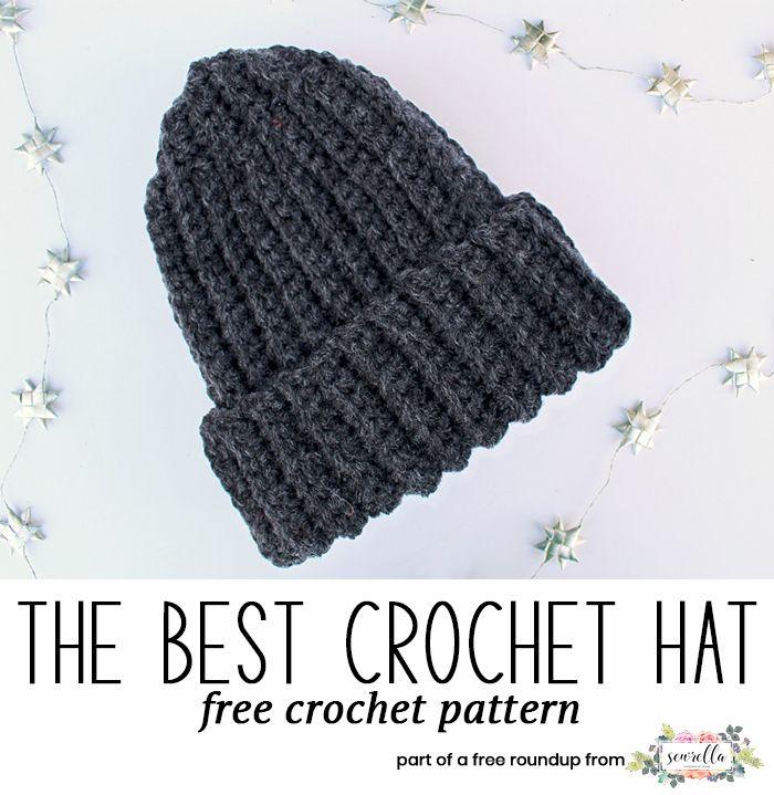 Husband Approved Crochet Hats For Men Sewrella Crochet Hats Crochet Crochet Mens Hat