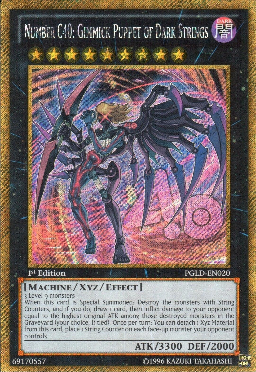 Number C40 Gimmick Puppet Of Dark Strings Yu Gi Oh