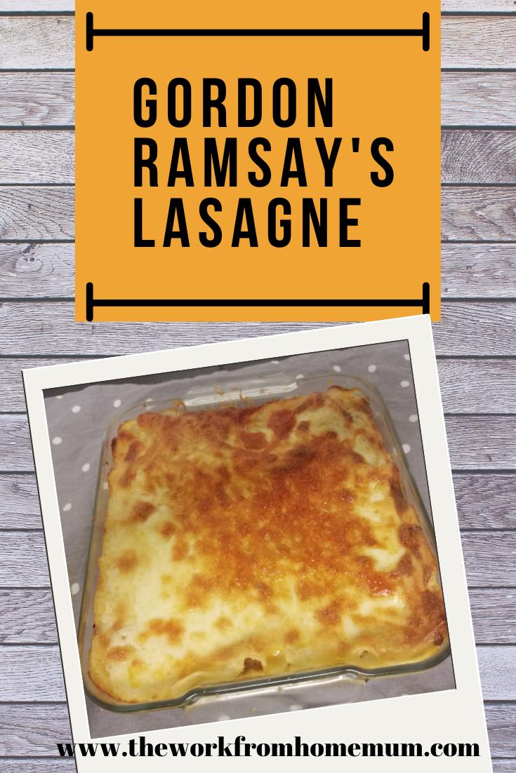 Gordon Ramsay S Lasagne I 2020
