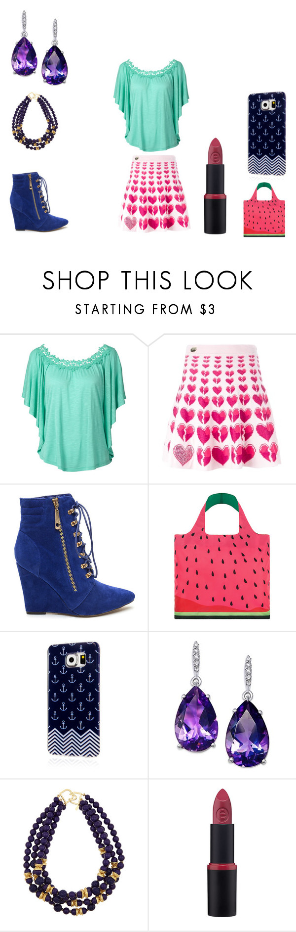 """""""it's a water molon"""" by leannsaxon123 on Polyvore featuring Philipp Plein, LOQI, Samsung and Kenneth Jay Lane"""