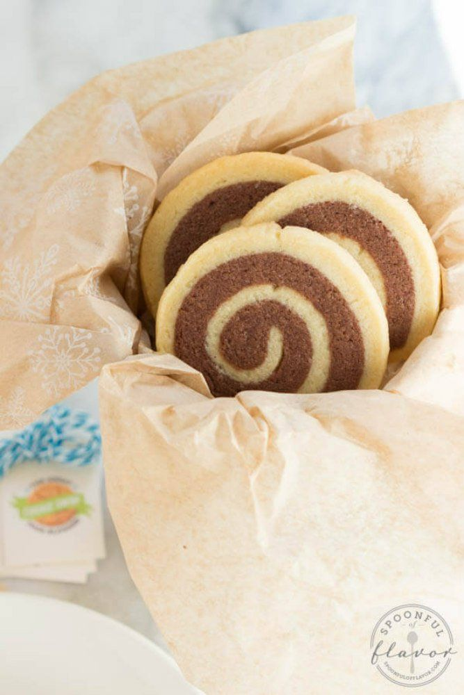 """<p>Recipe here: <strong><a href=""""http://www.spoonfulofflavor.com/2014/12/15/chocolate-vanilla-swirl-cookies/"""" target=""""_blank"""">CHOCOLATE- VANILLA SWIRL COOKIES</a></strong></p>"""