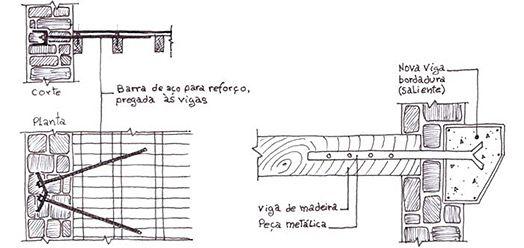 junção parede de madeira com parede de alvenaria - Pesquisa Google ...