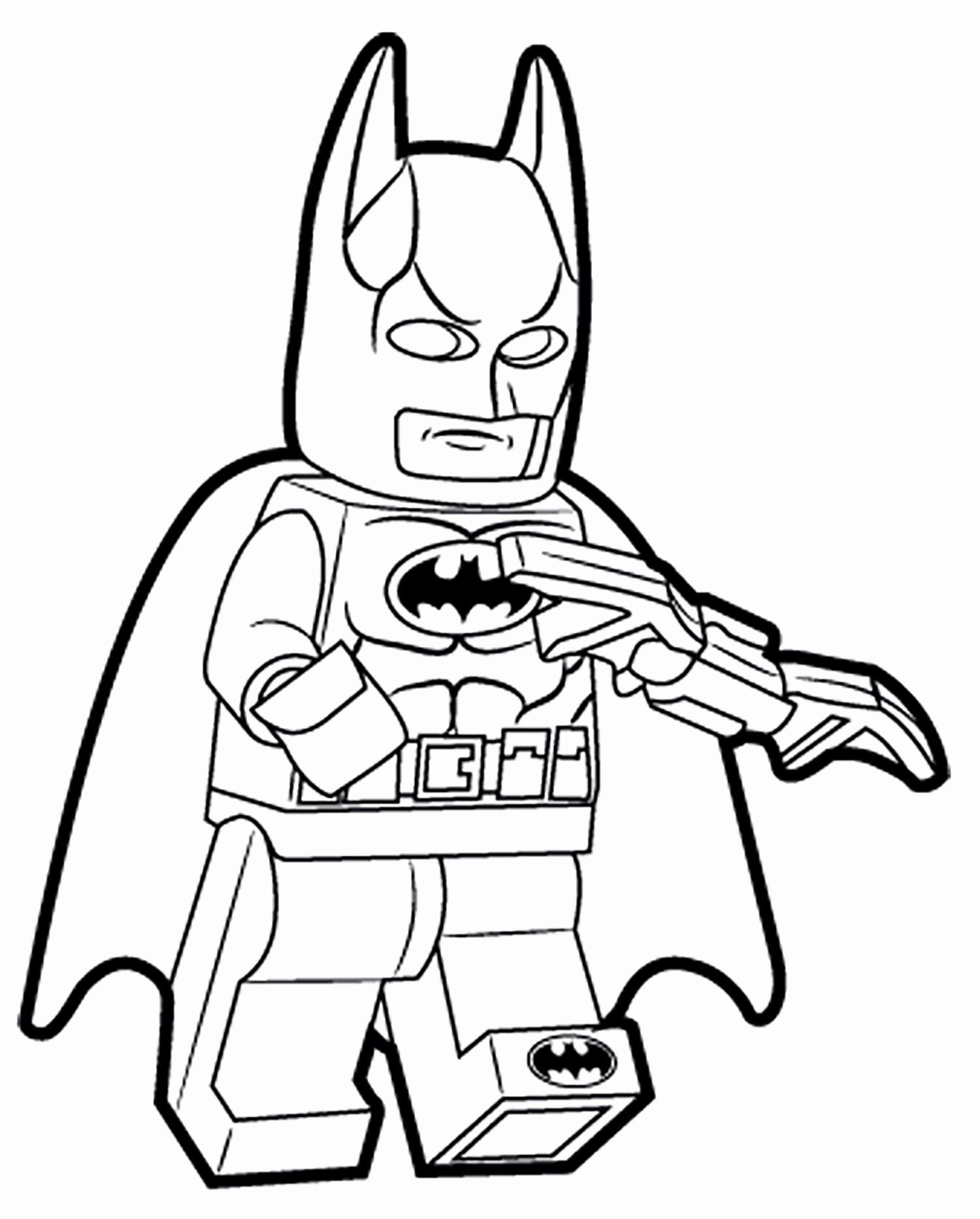 Lego Batman Coloring Book Unique Coloring Pages Lego