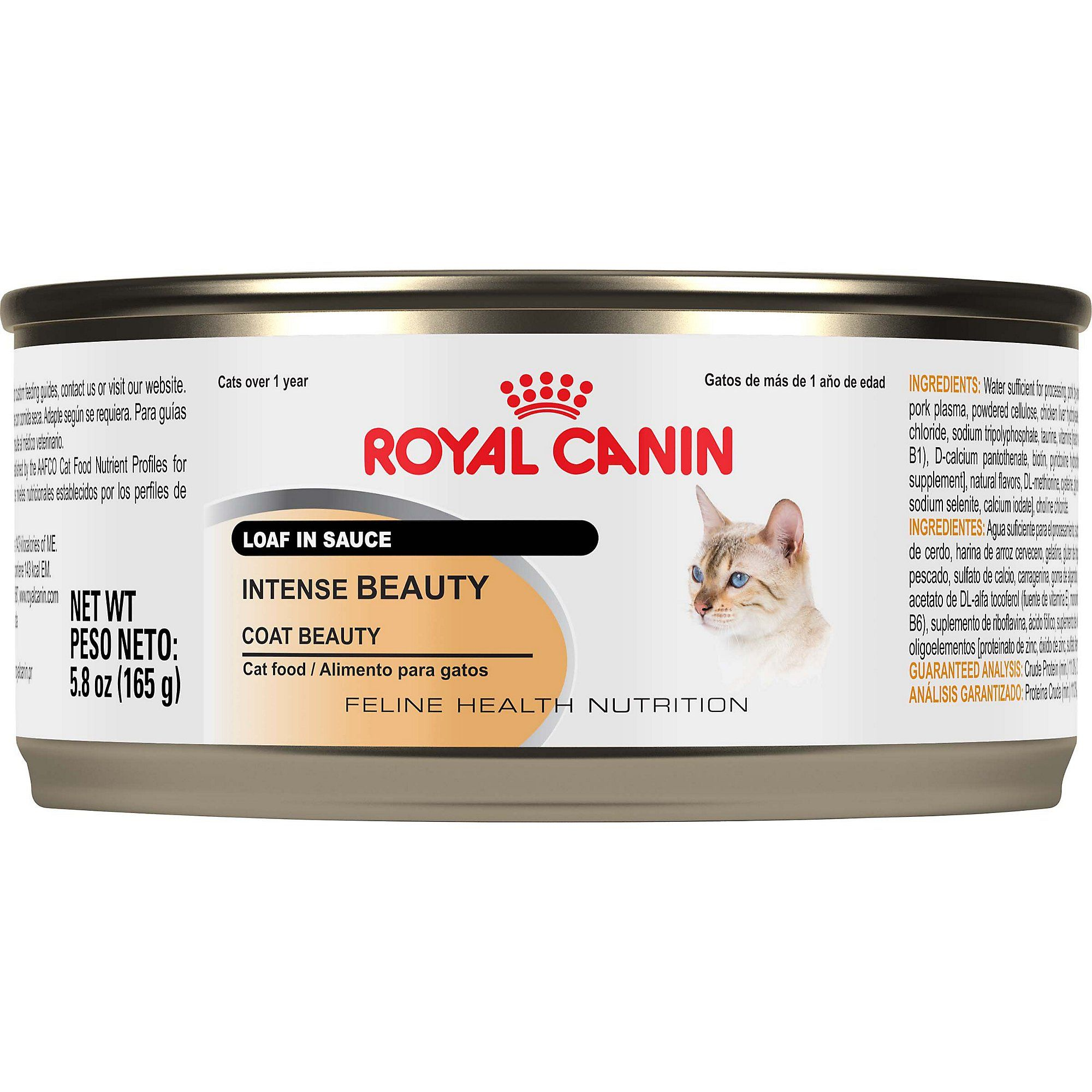Royal Canin Intense Beauty Loaf In Sauce Wet Cat Food For Skin
