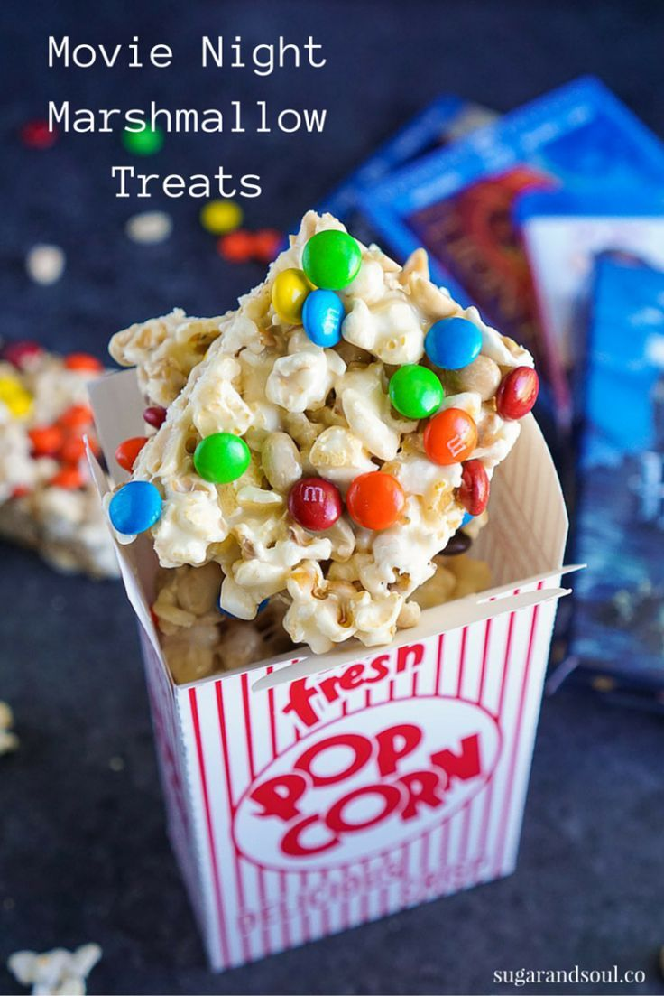 Diese Movie Night Marshmallow Treats sind so einfach zuzubereiten! Ein butteriger Marshmall ...   - Recipes - #butteriger #diese #Ein #einfach #Marshmall #Marshmallow #movie #night #Recipes #sind #Treats #zuzubereiten #marshmallowtreats